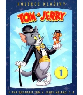 Tom a Jerry kolekce 1. 1.- 4. díl - 4 DVD