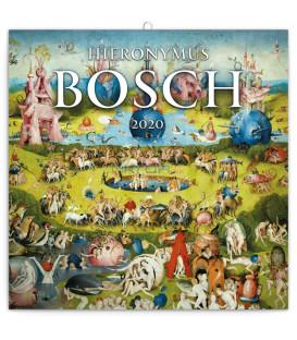 Poznámkový kalendár Hieronymus Bosch, 2020, 30 x 30 cm