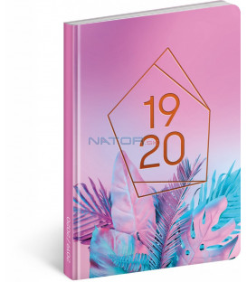 18mesačný diár Petito – Neón 2019/2020, 11 x 17 cm