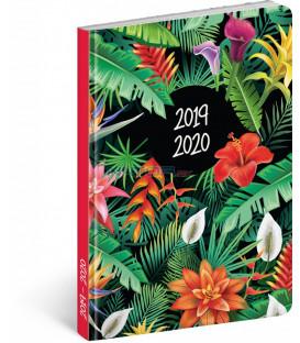 18mesačný diár Petito – Tropic 2019/2020, 11 x 17 cm