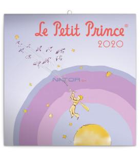 Poznámkový kalendár Malý princ 2020, 30 x 30 cm