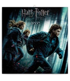 Poznámkový kalendár Harry Potter 2020, 30 x 30 cm
