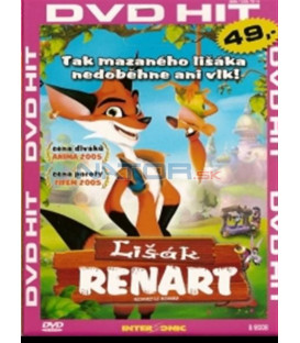 Lišiak Renart (Le Roman de Renart) DVD