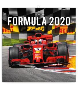 Poznámkový kalendár Formuly – Jiří Křenek 2020, 30 x 30 cm