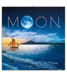 Poznámkový kalendár Mesiac 2020, 30 x 30 cm