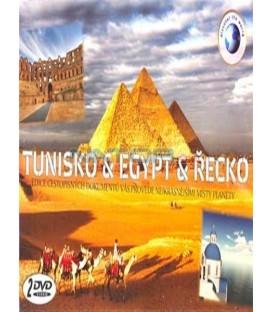TUNISKO & EGYPT & ŘECKO /2 DVD/