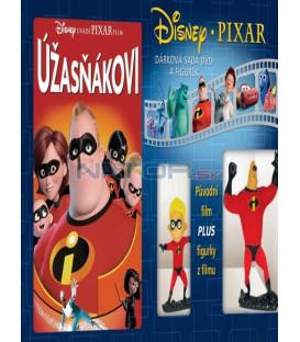 Úžasňákovi/Rodinka úžasných/Incredibles-Dárková sada DVD a figurek 2x