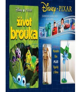Život brouka(Bugs Life, A)-Dárková sada DVD a figurek 2x