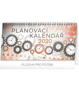 Stolní kalendář Plánovací CZ 2020, 25 x 12,5 cm