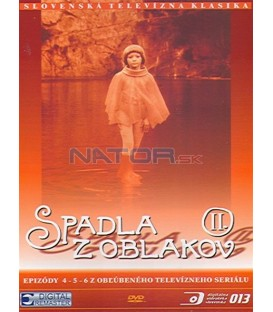 Spadla z oblakov II., epizódy 4-6 DVD