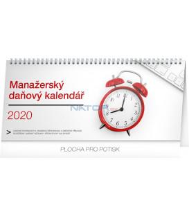 Stolní kalendář Manažerský daňový CZ 2020, 33 x 14,5 cm