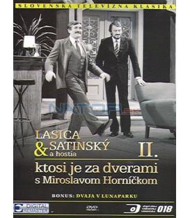 Lasica & Satinský a hostia II.: Ktosi je za dverami s Miroslavom Horníčkom DVD