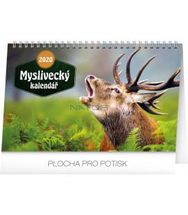 Stolní Myslivecký kalendář CZ 2020, 23,1 x 14,5 cm
