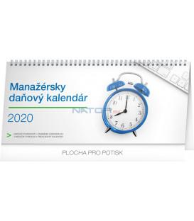 Stolový kalendár Manažérsky daňový SK 2020, 33 x 14,5 cm