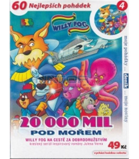 Willy Fog - 20 000 mil pod mořem - 4 (Willy Fog in 20.000 Leagues under the Sea) DVD