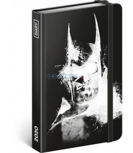 Týždenný diár Batman 2020, 11 × 16 cm