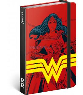 Týždenný diár Wonder Woman 2020, 11 × 16 cm
