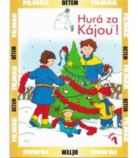 Hurá za Kájou! - disk 7 (Caillou) DVD
