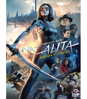 Alita: Bojový Anděl 2018 (Alita: Battle Angel) DVD