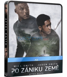 PO ZÁNIKU ZEMĚ (After Earth) - Blu-ray STEELBOOK + bonusový disk