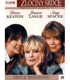 Zločiny srdce 1986 (Crimes of the Heart) DVD