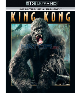 King Kong 2005 UHD+BD - 2 x Blu-ray