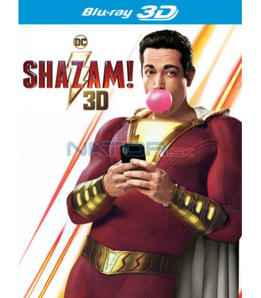 SHAZAM! 2019 (Shazam!) 3D + 2D Blu-ray