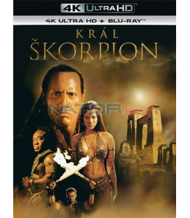 Král Škorpion 2002 (The Scorpion King) (4K Ultra HD) - UHD Blu-ray + Blu-ray