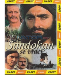 Sandokan se vrac í (La tigre è ancora viva: Sandokan alla riscossa!) DVD