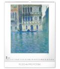 Nástenný kalendár Claude Monet 2020, 48 x 56 cm