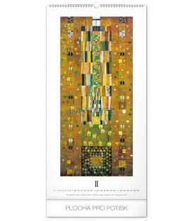 Nástenný kalendár Gustav Klimt 2020, 33 x 64 cm