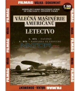 Válečná mašinérie Američanů 2 - Letectvo DVD (The War Machines of WWII - The Americans)