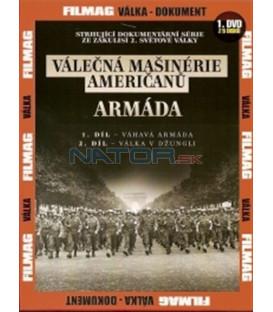 Válečná mašinérie Američanů 1 - Armáda DVD (The War Machines of WWII - The Americans)