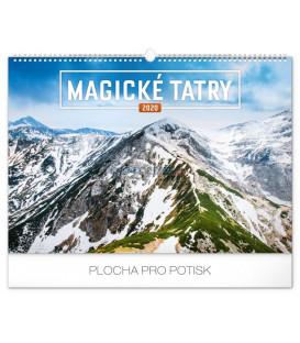 Nástenný kalendár Magické Tatry 2020, 48 x 33 cm