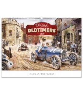 Nástenný kalendár Oldtimers – Václav Zapadlík 2020, 62 x 42 cm