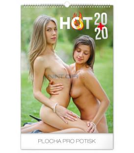 Nástenný kalendár Hot 20+20, 2020, 33 x 46 cm