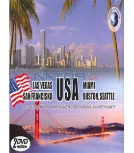 USA -LAS VEGAS,SAN FRANCISKO+MIAMI,BOSTON,SEATTLE/2 DVD/
