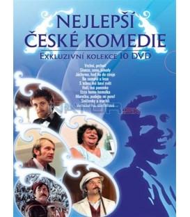 Nejlepší české komedie 10DVD
