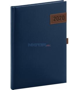 Denný diár Tarbes 2020, modrý, 15 x 21 cm
