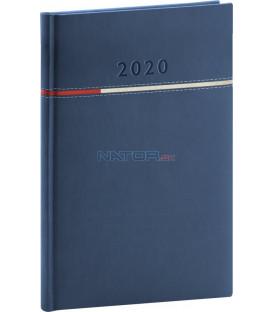 Týždenný diár Tomy modro-červený 2020 15 x 21 cm