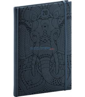 Týždenný diár Vivella Špeciál 2020, slon 15 x 21 cm