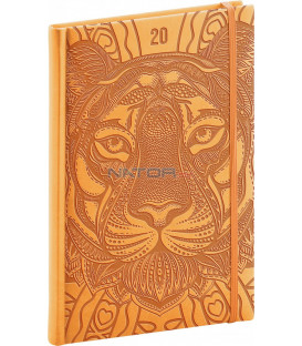 Týždenný diár Vivella Špeciál 2020, tiger 15 x 21 cm