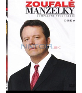 Zoufalé manželky - disk 9 (Desperate Housewives) DVD