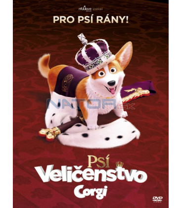 Psí veličenstvo Corgi (The Queens Corgi) 2019 DVD