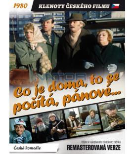 Co je doma, to se počítá, pánové... 1980 (remasterovaná verze) DVD