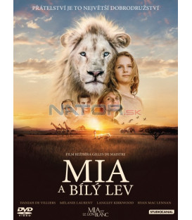 Mia a biely lev 2018 (Mia et le lion blanc) DVD (SK OBAL)