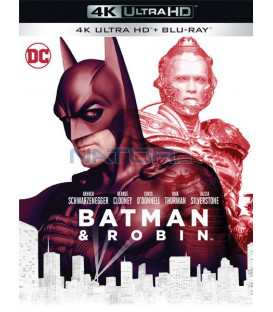 Batman a Robin 1997 (Batman & Robin) (4K Ultra HD) - UHD Blu-ray + Blu-ray