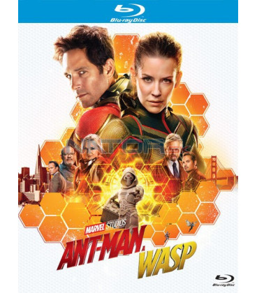 Ant-Man a Wasp 2018  (Ant-Man and the Wasp) Blu-ray
