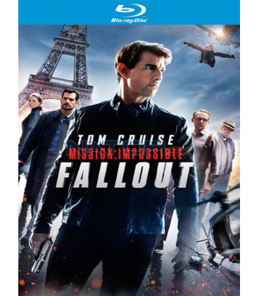 Mission: Impossible 6 - Fallout 2018 2x Blu-ray + bonus disk