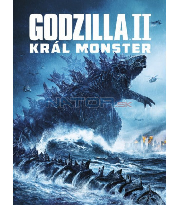 Godzilla II Král monster 2019 (Godzilla: King of the Monsters) DVD